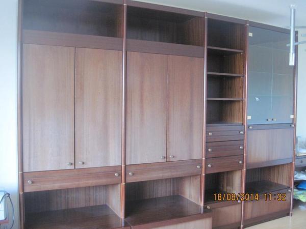 mahagoni schrankwand in bochum wohnzimmerschr nke. Black Bedroom Furniture Sets. Home Design Ideas
