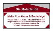Maler / Lackierer & Bodenleger