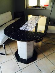 granittisch haushalt m bel gebraucht und neu kaufen. Black Bedroom Furniture Sets. Home Design Ideas