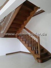 Holztreppe bekleidung der betontreppe oder gel nder in for Betontreppe kaufen