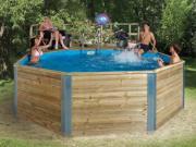 Massivholz-Swimmingpool von