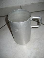 Messbecher - Aluminiumbecher - Topf -