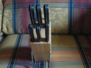 Messerblock aus Holz