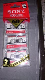 Microcassetten Sony 3MC-