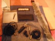 Microfonset von Shure (