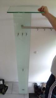 Garderobe edelstahl in mannheim haushalt m bel for Garderobe querstange