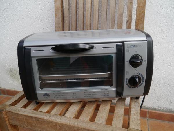 mini backofen clatronic in hallbergmoos k chenherde grill mikrowelle kaufen und verkaufen. Black Bedroom Furniture Sets. Home Design Ideas