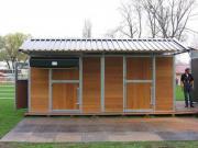 Mobile Boxen, Hütten,