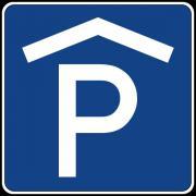 Motorrad-Tiefgaragenstellplatz