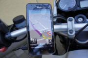 Motorradnavigation auch Smartphon