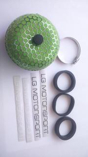 Motorsport Luftfilter Grün