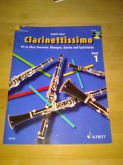 Musikheft Clarinettissimo Band