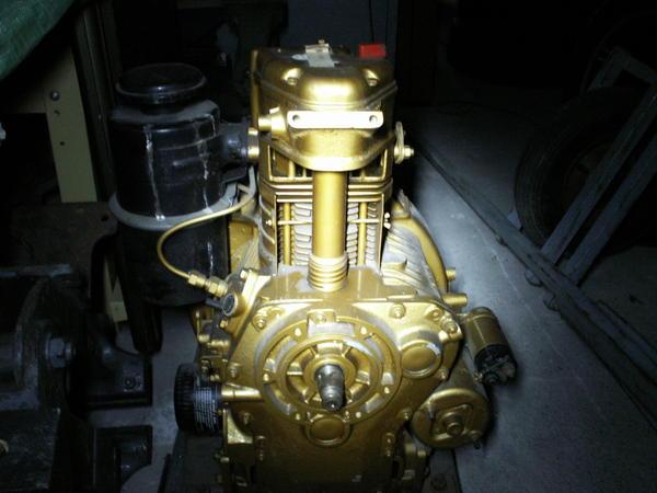 Mwm Dieselmotor Station Rmotor 1zyl In