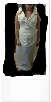 neckholder Brautkleid, Hochzeitskleid