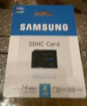 NEU Samsung SDHC