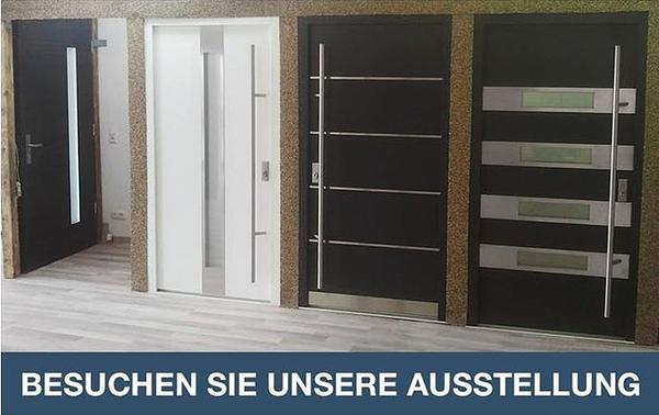 neue haust ren alu aus ausstellung u lager abverkauf g nstig in tamm t ren zargen tore. Black Bedroom Furniture Sets. Home Design Ideas