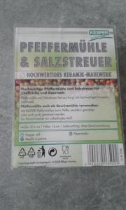 Neue Kesper Pfeffermühle +