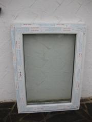 Neues Kunststofffenster Breite