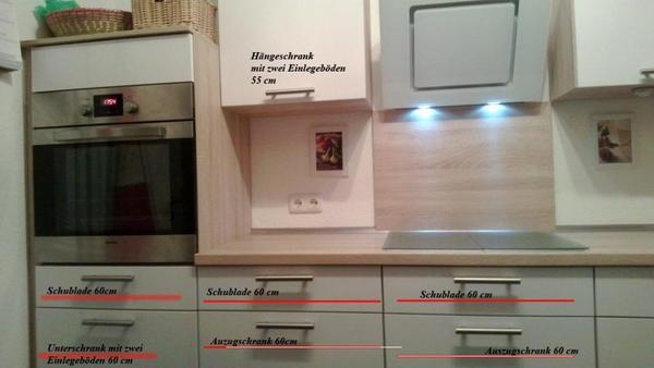 Einbauküche Weiß Hochglanz Gebraucht ~ Nobilia Einbauküche weiß Hochglanz inkl E