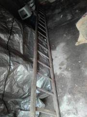 nostalgische Holzleiter (gebraucht)