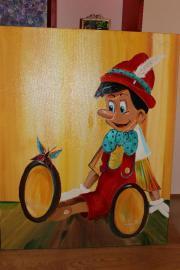 Ölgemälde Pinocchio