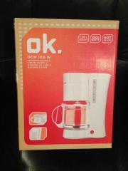 OK. Glas Kaffemaschine