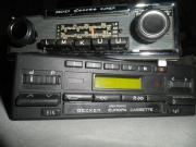 Oldtimer Autoradio Becker
