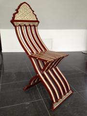 Orientalischer Stuhl aus