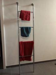 originellen unbenutzten Handtuchhalter