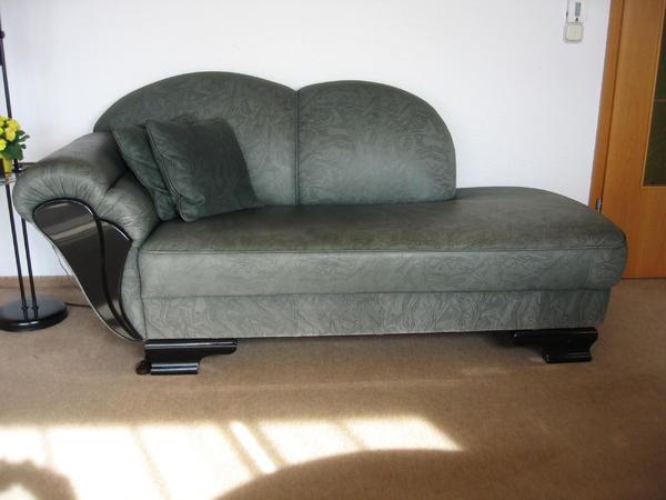 ottomane couch sofa recamiere in bobingen designerm bel klassiker kaufen und verkaufen ber. Black Bedroom Furniture Sets. Home Design Ideas
