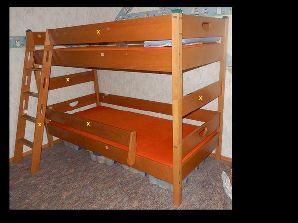 etagenbett massivem neu und gebraucht kaufen bei. Black Bedroom Furniture Sets. Home Design Ideas