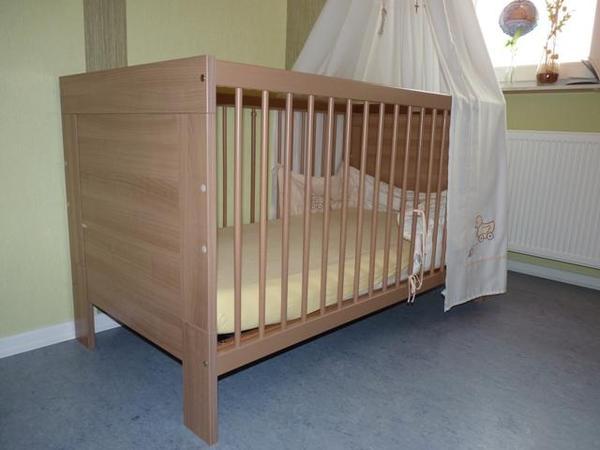 paidi kinderbett jan in neuhof wiegen babybetten reisebetten kaufen und verkaufen ber. Black Bedroom Furniture Sets. Home Design Ideas