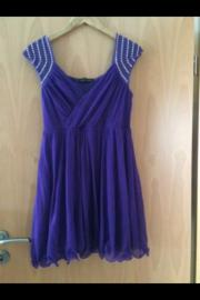 Partykleid lila