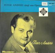 Peter Anders Schallplatte.