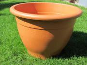 Pflanzkübel Kunststoff Terracotta
