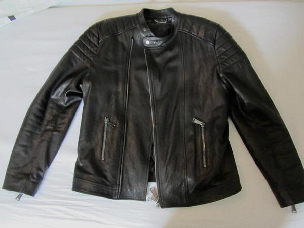 philipp plein lederjacke leather jacket in wildeshausen. Black Bedroom Furniture Sets. Home Design Ideas