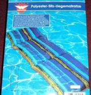 Polyester-Sitz-Liegematratze
