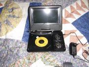 Portable DVD incl.