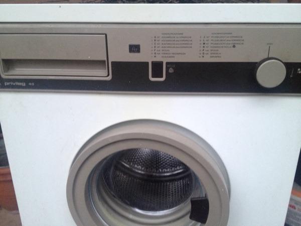 privileg 43 funktionsf hige waschmaschine kostenlos f r. Black Bedroom Furniture Sets. Home Design Ideas