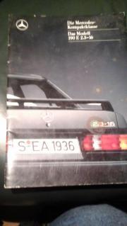 Prospekt von Mercedes
