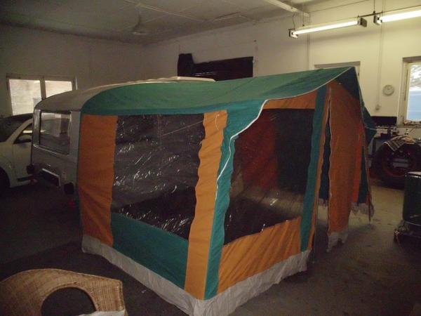 qek junior wohnwagen bj 1986 mit vorzelt und winterlager. Black Bedroom Furniture Sets. Home Design Ideas