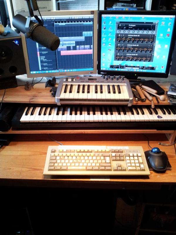 midi keyboard neu und gebraucht kaufen bei. Black Bedroom Furniture Sets. Home Design Ideas