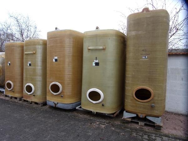 regenwassertanks weintanks gfk silo zisterne in wallertheim landwirtschaft weinbau. Black Bedroom Furniture Sets. Home Design Ideas