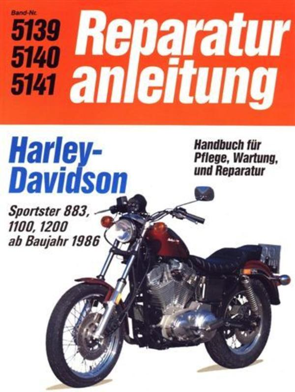 reparaturanleitung harley davidson sportster in bochum. Black Bedroom Furniture Sets. Home Design Ideas