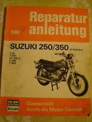 Reparaturanleitung Suzuki 250/