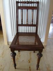 Restaurierte Gründerzeit Stühle -