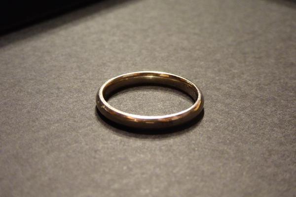 Ring klassisch schlicht, » Schmuck, Brillen, Edelmetalle