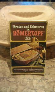 Römertopf mit Rezeptbuch