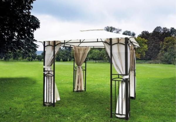 romantischer pavillon algarve 3 x 3m mit 2 neuen. Black Bedroom Furniture Sets. Home Design Ideas
