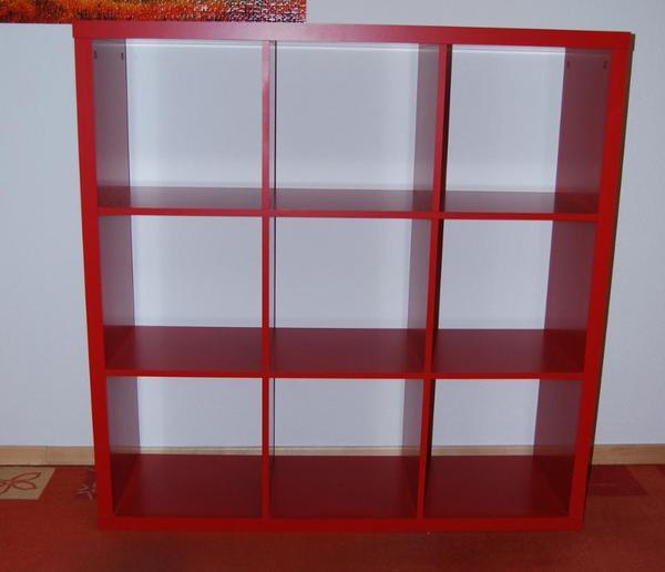 rotes regal raumteiler in karlsruhe regale kaufen und verkaufen ber private kleinanzeigen. Black Bedroom Furniture Sets. Home Design Ideas
